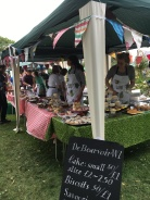 De Beauvoir WI tea and cake stall, Party in the Park 2016